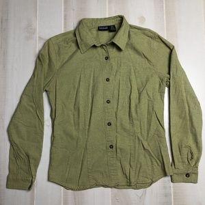 Patagonia Organic Cotton Green Shirt